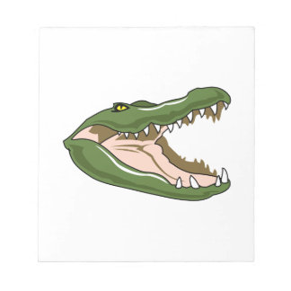 Gator Head Notepad