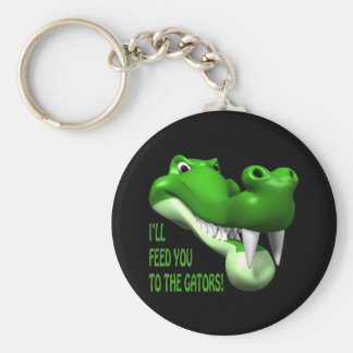 Gator Keychain