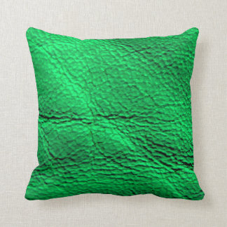 Gator neon green pillow design by RT STONE