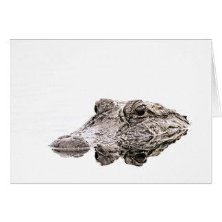 Gator Notecards Card