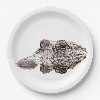 Gator Paper Plates