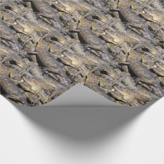 Gator Pile Wrapping Paper