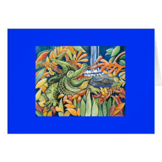 Gator Time Greeting Cards