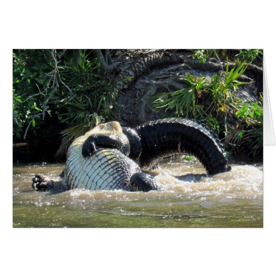 Gator Wars  - Greeting Card