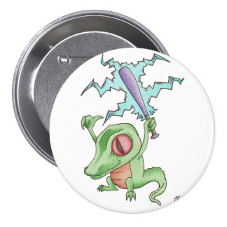 Gators! 3 Inch Round Button