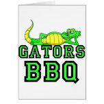 Gators BBQ Greeting Cards