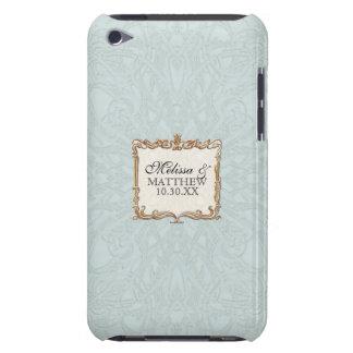Gatsby Art Deco Nouveau Lace Faux Gold Tulip iPod Case-Mate Case