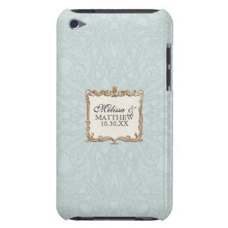 Gatsby Art Deco Nouveau Lace Faux Gold Tulip iPod Case-Mate Case