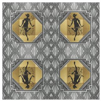 Gatsby Flapper Art Deco Fabric