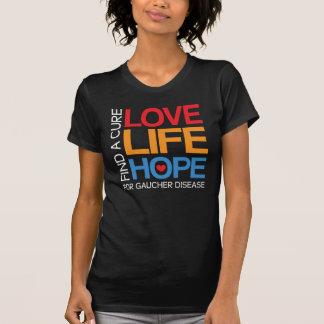 Gaucher disease awareness, find a cure, dark shirt