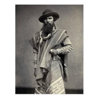 Gaucho of the Argentine Republic 1868 Postcard