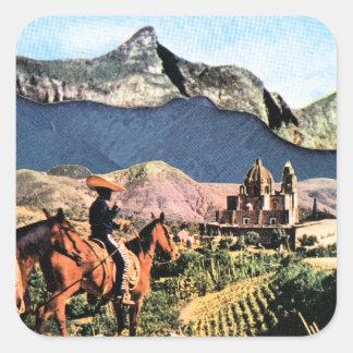 Gaucho Square Sticker