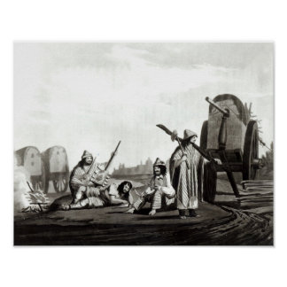 Gauchos  of Tucuman, 1820 Poster