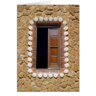 Gaudi House Window - card 7