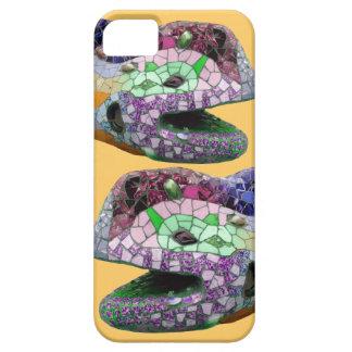 Gaudi Lizard Head Mosaics Case For The iPhone 5