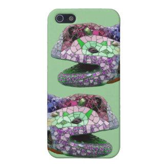 Gaudi Lizard Head Mosaics iPhone 5 Cases