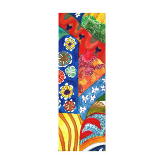 Gaudi's Bench 2. Canvas Print