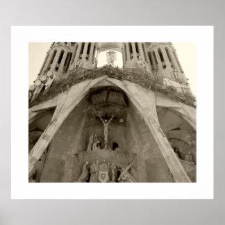 Gaudi's Sagrada Familia Poster