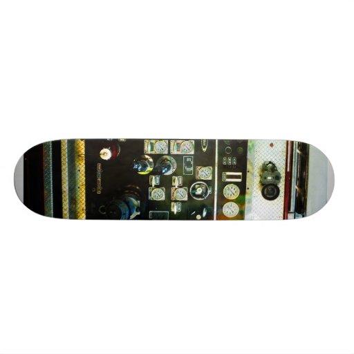Gauges on Fire Truck Skateboards
