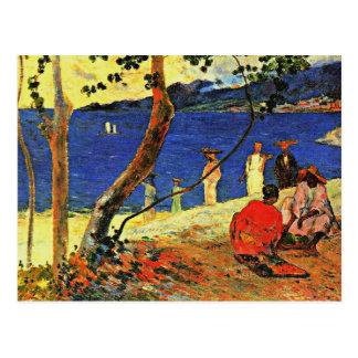 Gauguin - A Seashore Postcard