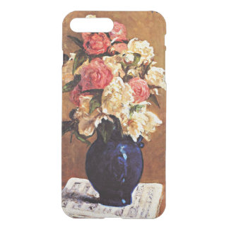 Gauguin - Bouquet of Peonies on a Musical Score iPhone 8 Plus/7 Plus Case