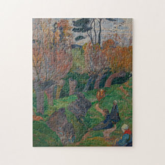 Gauguin Brittany Landscape with Cows Puzzles