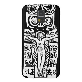 Gauguin Crucifix Samsung Galaxy S5 Phone Case