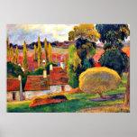 Gauguin: Farm in Brittany Poster