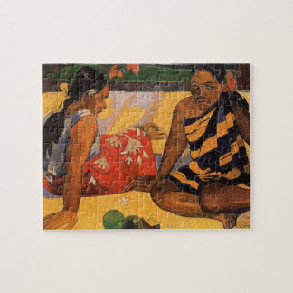 Gauguin French Polynesia Tahiti Women Jigsaw Puzzle