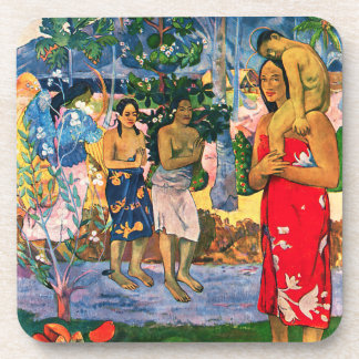 Gauguin Ia Orana Maria Coasters