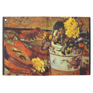 Gauguin - Mandolina and Flowers-1883
