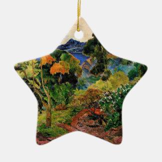Gauguin - Martinique Landscape Ceramic Ornament