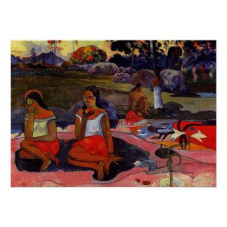 Gauguin - Nave Nave Moe Poster