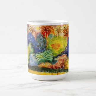 Gauguin Tahitian Landscape Mug