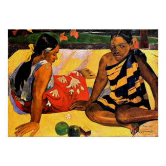Gauguin - What's New? Painting by Paul Gauguin Poster
