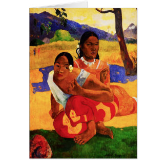 Gauguin When Are You Getting Married Note Card