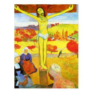 Gauguin Yellow Christ Postcard