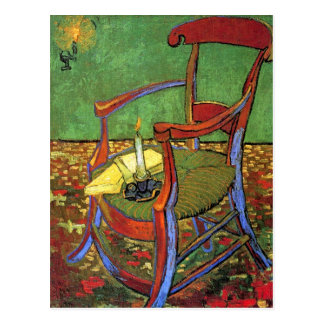 Gauguin's Chair by Vincent van Gogh Postcard