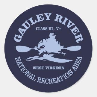 Gauley River Classic Round Sticker