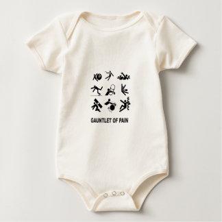 gauntlet of pain baby bodysuit
