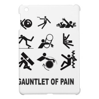 gauntlet of pain iPad mini cover