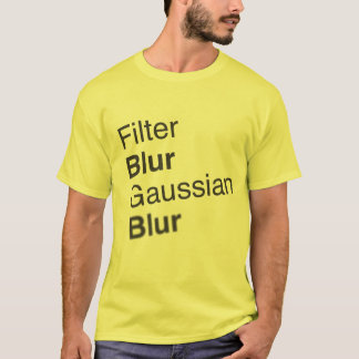 Gaussian Blur T-Shirt