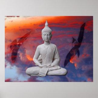 Gautama Siddhartha Buddha Poster
