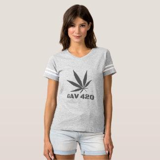 GAV Leaf Print T-Shirt by #GrindAndVape