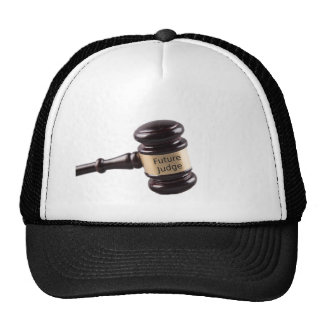 Gavel Design For Aspiring Judges And Lawyers Trucker Hat