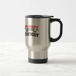 gavel divorce 50 50 custody travel mug