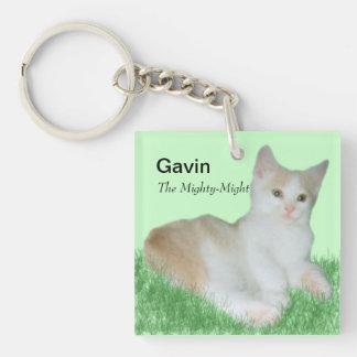 Gavin_Cat Key Chain