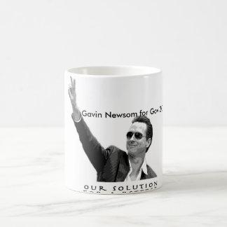 Gavin Newsom for Gov 2010 Coffee Mug