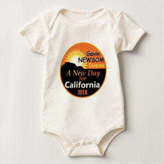 Gavin NEWSOM Governor 2018 Baby Bodysuit