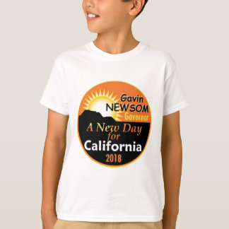 Gavin NEWSOM Governor 2018 T-Shirt